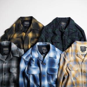 PENDLETON ペンドルトン ウォッシャブルウールオープンカラーシャツ ORIGINAL BOARD SHIRT (CLASSIC FIT)/2カラー|todayistheday