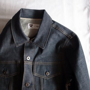 TELLASON テラソン デニムジャケット JEAN JACKET/CONE-MILLS 12.5oz DENIM|todayistheday