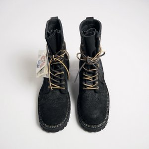 WHITE'S BOOTS ホワイツ ブーツ スモークジャンパー SMOKE JUMPER/BLACK ROUGH-OUT|todayistheday