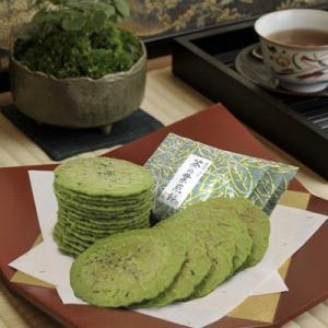 京煎堂 茶の葉煎餅 10枚入...