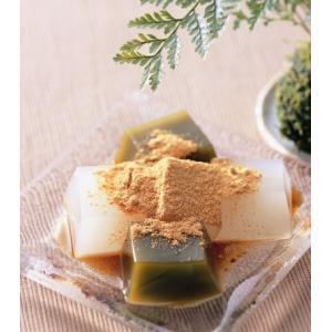 むっちりと仕上げた生地が特徴の京風わらび餅です。 特製きなこと黒蜜を付けておりますので、お好みの味付...
