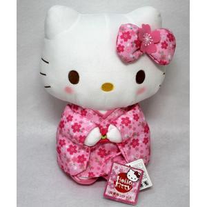 桜色のカワイイ着物に身を包んだキテイちゃん。 これぞ、カワイイジャパン!  本体寸法:H29cm