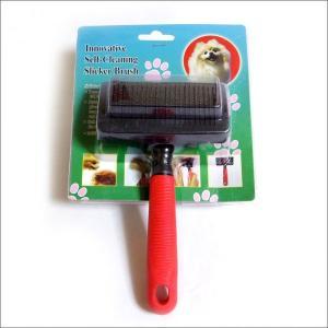 定形外送料無料 セルフクリーニング スリッカーブラシ 犬用|togishokunin