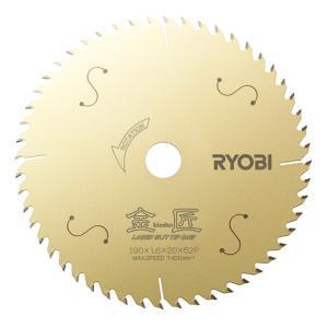 リョービ フッ素コートレーザースリットチップソー 金匠 190mmx52P  6653681 5枚セット|togiyanet