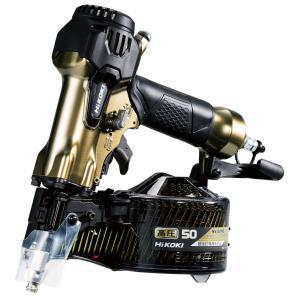 HiKOKI(日立) 高圧ロール釘打機 NV50H2(S) エアダスタ付(細径釘専用) togiyanet