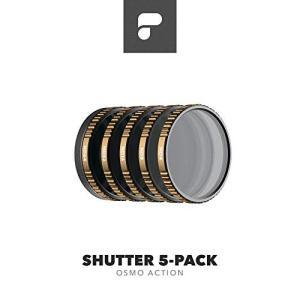 PolarPro Osmo Action シネマシリーズ フィルターセット Shutter 5-Pack (ND4, ND8, ND16, ND32, ND64) - 日本国内 正規品 アクションカメラ アクセサリー|tohasen