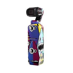 Sunnylife Osmo Pocket用 3M ボディーステッカー スキン デカール  - 柄:サメ -   正規品 アクションカメラ アクセサリー/ クリックポスト発送|tohasen