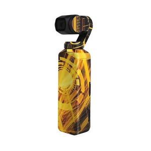 Sunnylife Osmo Pocket用 3M ボディーステッカー スキン デカール  - 柄:ゴールド -   正規品 アクションカメラ アクセサリー/ クリックポスト発送|tohasen