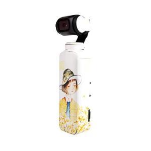 Sunnylife Osmo Pocket用 3M ボディーステッカー スキン デカール  - 柄:ホワイト -   正規品 アクションカメラ アクセサリー/ クリックポスト発送|tohasen
