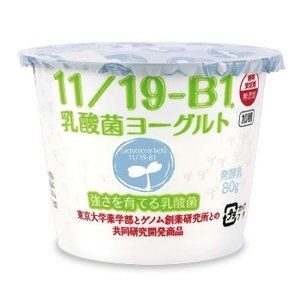 11/19-B1乳酸菌ヨーグルト(1箱8個入り)|tohoku-kyonyu