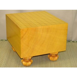 将棋盤 トウシンプレミアム/本榧天地柾目六寸八分(S117-2) tohsin-bankomaten