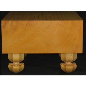 碁盤 トウシンプレミアム/本榧柾目五寸九分 (G109)|tohsin-bankomaten