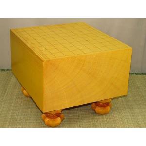 将棋盤  トウシンプレミアム/本榧柾目六寸一分 (S110) tohsin-bankomaten