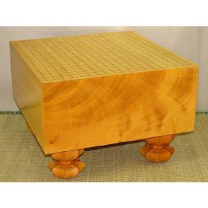 碁盤 トウシンプレミアム/本榧天地柾目六寸三分 (G118)|tohsin-bankomaten