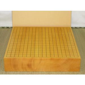 碁盤/本榧柾目三寸卓上碁盤(G128)|tohsin-bankomaten