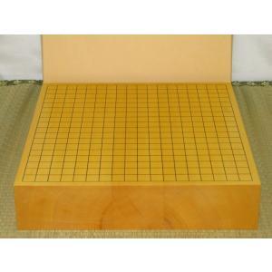 碁盤/本榧柾目三寸卓上碁盤(G134)|tohsin-bankomaten
