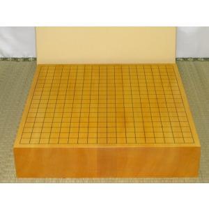 碁盤/本榧柾目三寸卓上碁盤(G135)|tohsin-bankomaten