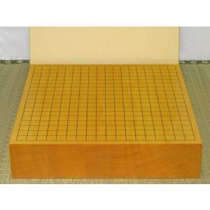 碁盤/本榧柾目三寸卓上碁盤(G136)|tohsin-bankomaten