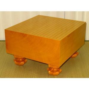 碁盤 トウシンプレミアム/本榧柾目六寸碁盤/新品(G144)|tohsin-bankomaten
