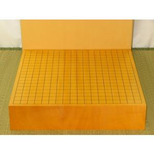 碁盤/トウシンオリジナル/本榧柾目三寸卓上碁盤 新品(G145)|tohsin-bankomaten