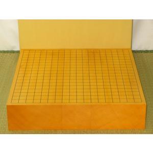 碁盤/トウシンオリジナル/本榧柾目三寸卓上碁盤 新品(G146)|tohsin-bankomaten