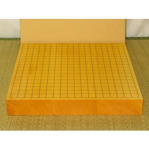 碁盤/日本産本榧柾目二寸卓上碁盤 新品 (G147)|tohsin-bankomaten