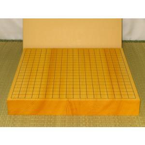 碁盤/日本産本榧柾目二寸卓上碁盤/新品(G151)|tohsin-bankomaten