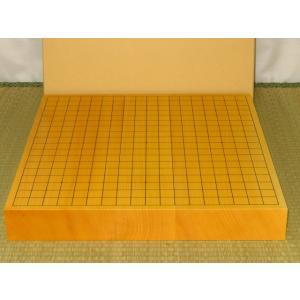 碁盤/日本産本榧柾目二寸卓上碁盤/新品(G152)|tohsin-bankomaten