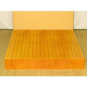 碁盤/本榧柾目一枚物二寸卓上碁盤/新品(G154)|tohsin-bankomaten