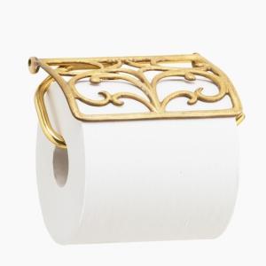トイレットペーパーホルダー  ゴールド 金 真鍮  PH155HP|toiletas