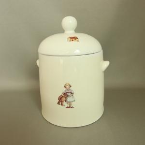 マニー トイレポット プチメゾン 陶器|toiletas