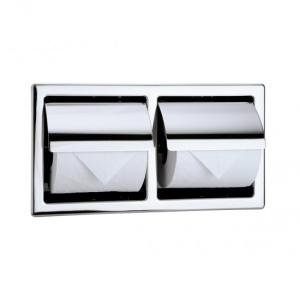 トイレットペーパーホルダー  2連 カウンター用  R2986|toiletas