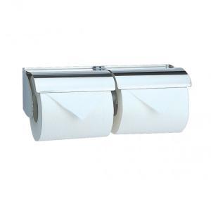 トイレットペーパーホルダー  2連 カウンター用  R3112-2|toiletas