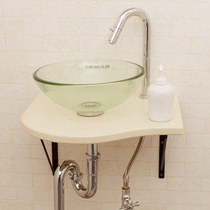 洗面ボウル セット 強化ガラス toiletas