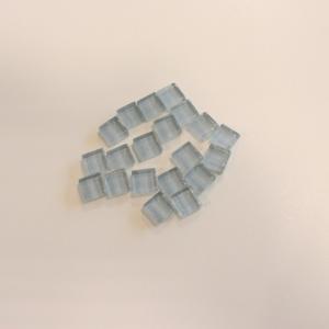 モザイクタイル バラ売り クラフト ハンドメイド ガラスバラタイル 灰色 20個 toiletas