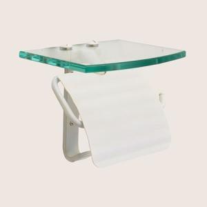 トイレットペーパーホルダー  ホワイト 白 TPH ガラスシェルフ S WAB 640718 toiletas