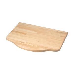 浮作仕上げ木製カウンター クリア L|toiletas