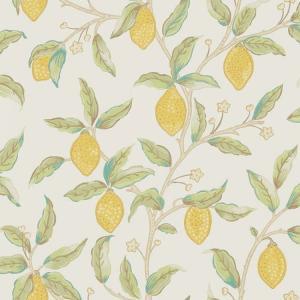 輸入壁紙 おしゃれ ウィリアムモリス レモンツリー morris  20021102 Lemon Tree 216672 toiletas