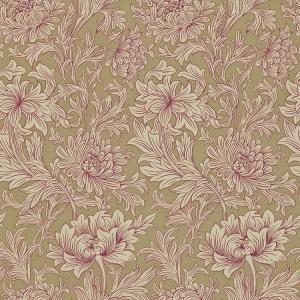 輸入壁紙 おしゃれ ウィリアムモリスMORRIS&Co. 20020345 Chrysanthemum Toile DMOWCH102 toiletas