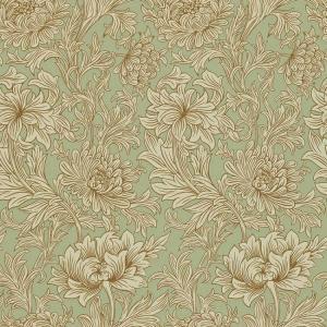 輸入壁紙 おしゃれ ウィリアムモリスMORRIS&Co. 20020347 Chrysanthemum Toile DMOWCH104 toiletas