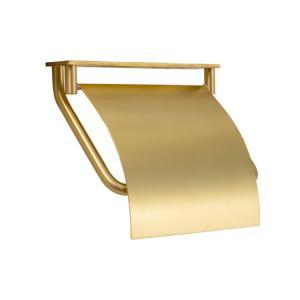 トイレットペーパーホルダー  カウンター用 真鍮 ゴールド 金 TPH PF C HL 640112|toiletas