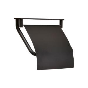 トイレットペーパーホルダー  真鍮 カウンター用 ブラック 黒 TPH PF BK 640113|toiletas