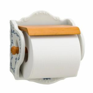 トイレットペーパーホルダー ホワイト 白 陶器  キュジーヌ|toiletas