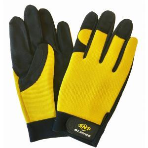 作業手袋 メカニックグローブ MEC-605YS 12ペア スパンデックス使用|toka-store