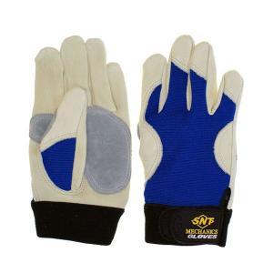 作業手袋 メカニックグローブ MEC-689A AAグレード・高級牛表革/スパンデックス使用|toka-store|02