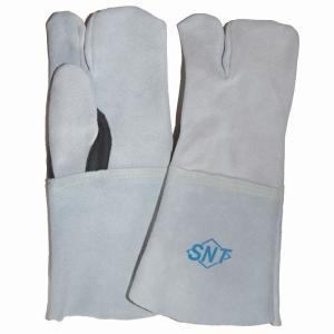 売り尽くしセール  レザーグローブ 長革手袋 3本指 WELD-09KEVLAR/3F  toka-store
