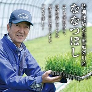 特別栽培米北海道深川産ななつぼし10kg(5kg×2)|tokachi-mahoroba