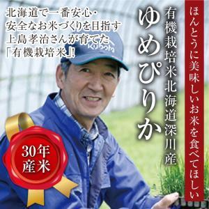 有機栽培米北海道深川産ゆめぴりか/10kg(5kg×2)|tokachi-mahoroba