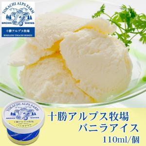 アイスクリーム【十勝アルプス牧場】バニラアイス  ice c...