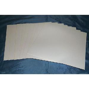 (サプライ) 12インチ LDサイズ、白色紙ジャケット(穴なし)10枚セット
